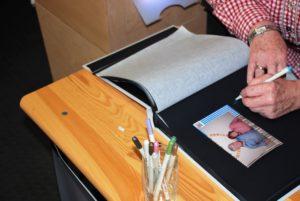 JR-Foto-Box Gästebuch